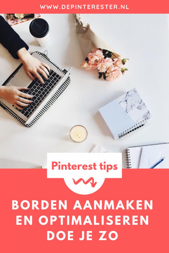Hoe maak je borden aan op Pinterest en optimaliseer je ze voor SEO?
