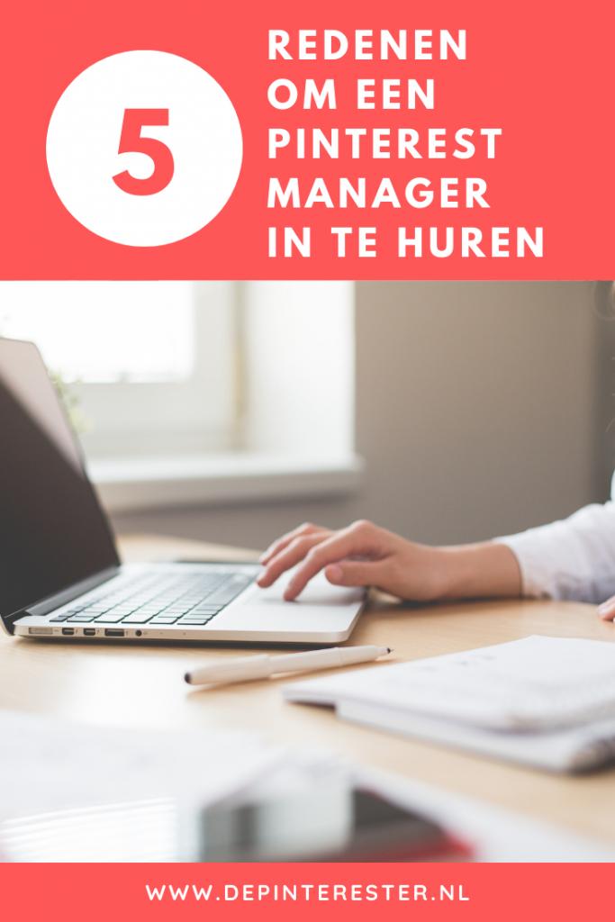 5 redenen om een Pinterest marketing manager in te huren
